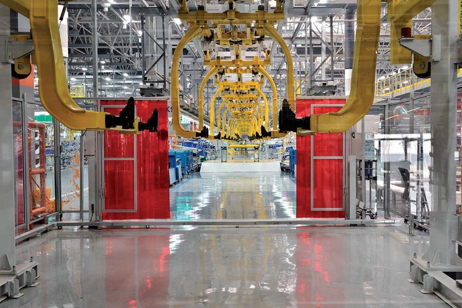 pavimentazioni industria manifatturiera
